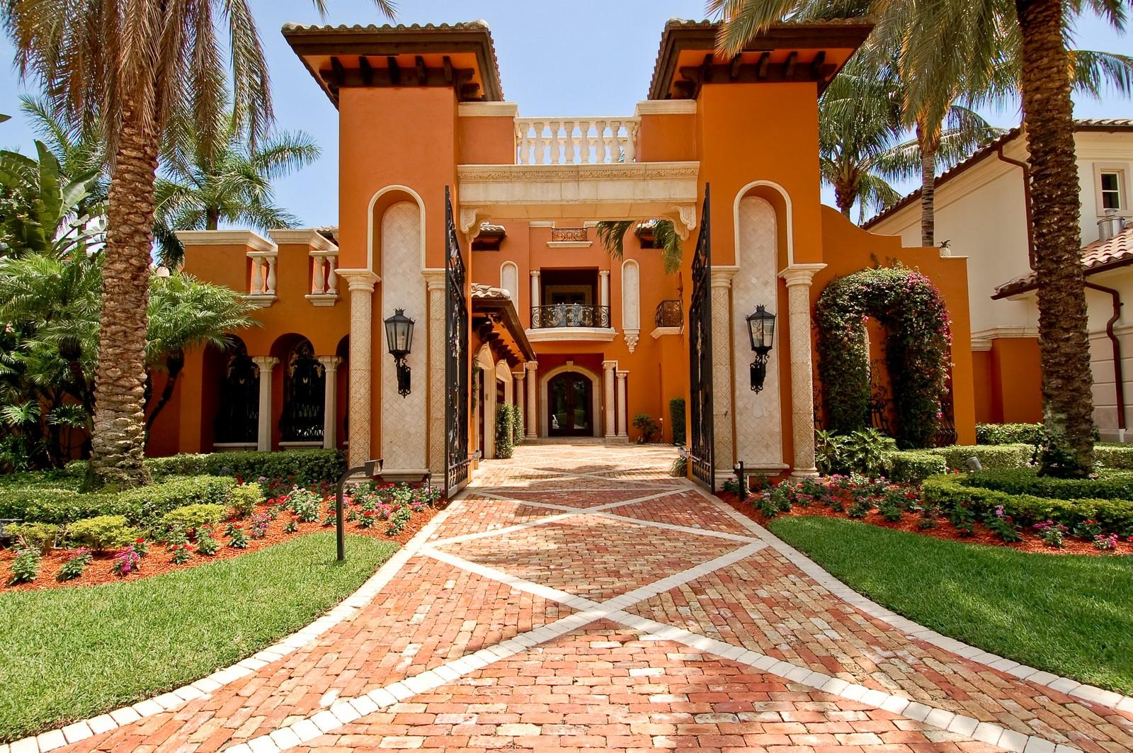 Real Estate Photography - 355 Mizner Lake Dr, Boca Raton, FL, 33432 - Front View