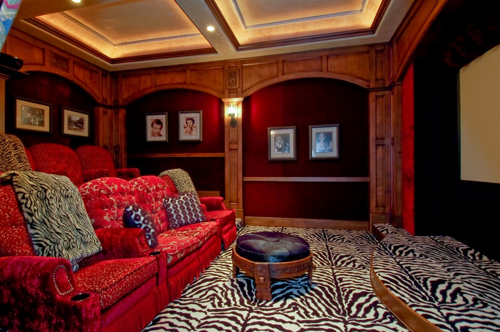 Real Estate Photography - 355 Mizner Lake Dr, Boca Raton, FL, 33432 - Theater