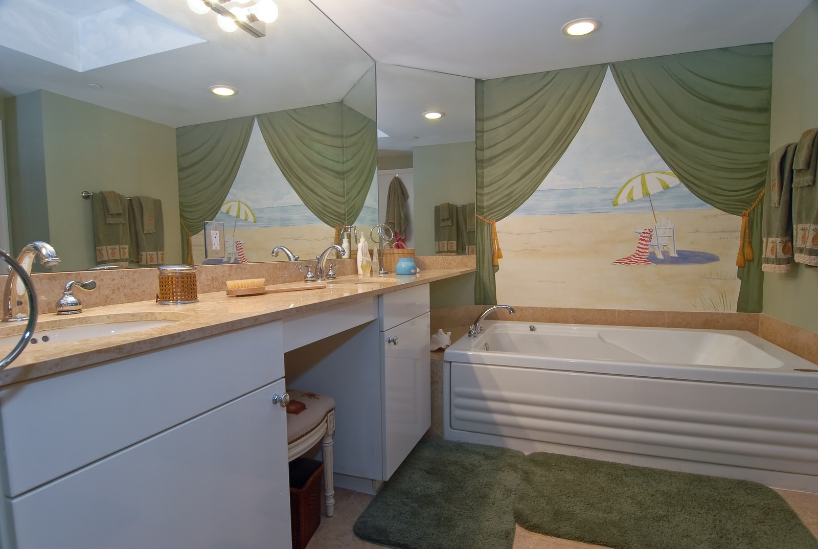 Real Estate Photography - 4779 Collins Ave, Unit 1901, Miami Beach, FL, 33140 - Master Bathroom