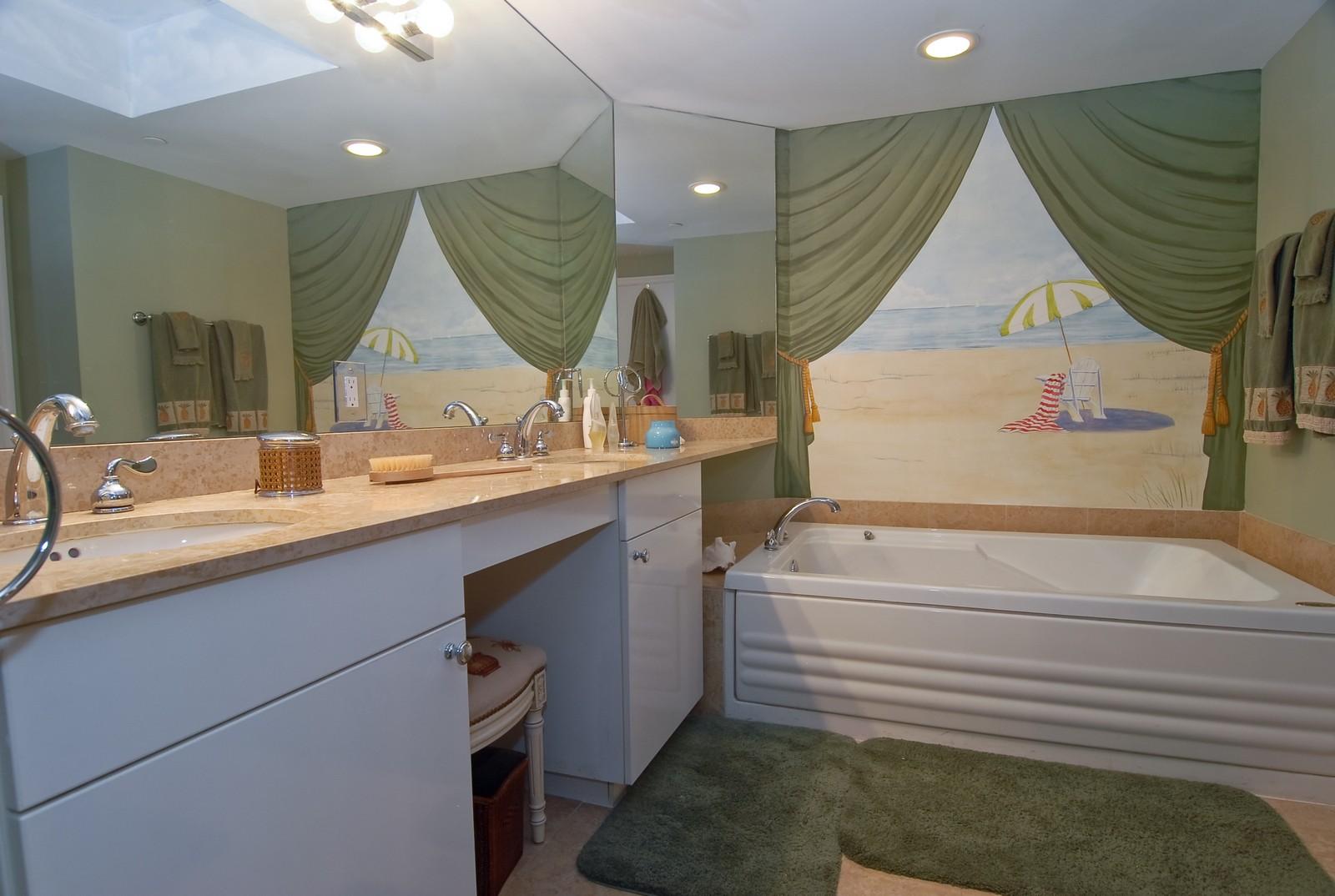 Real Estate Photography - 4779 Collins Ave, Unit 1901, Miami Beach, FL, 33140 - Master Bathroom