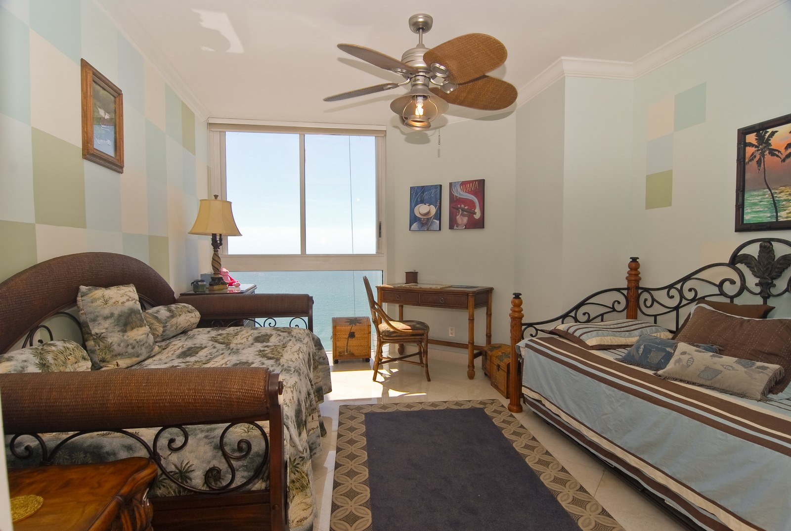 Real Estate Photography - 4779 Collins Ave, Unit 1901, Miami Beach, FL, 33140 - 2nd Bedroom