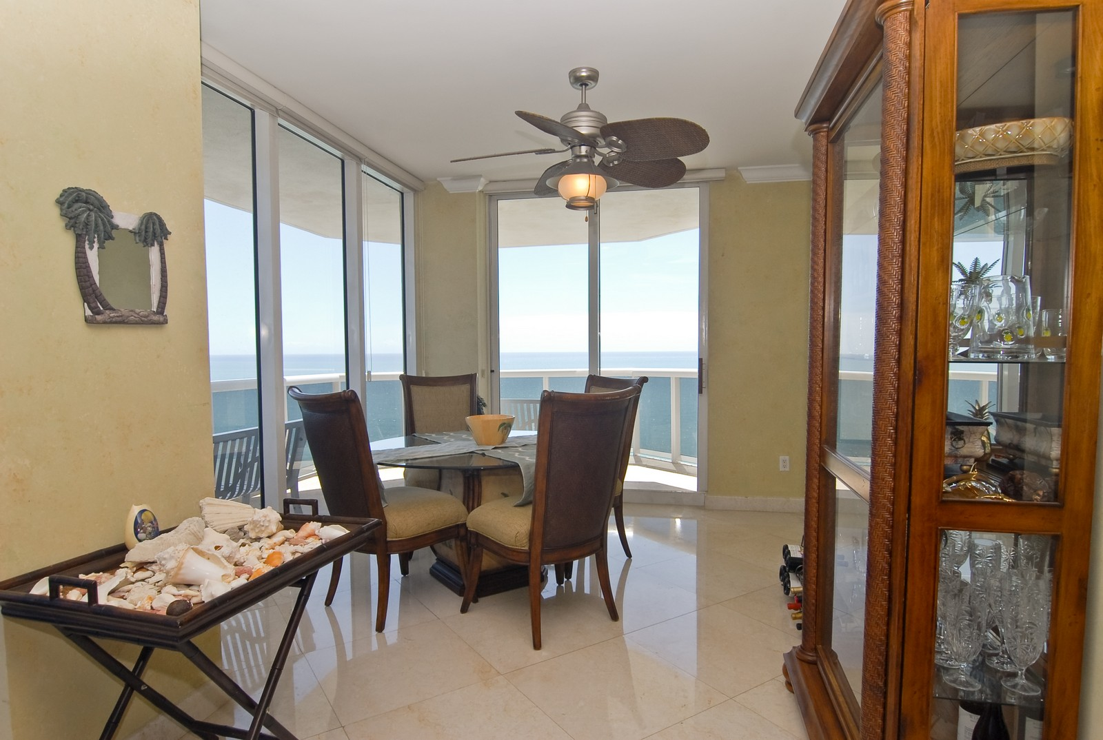 Real Estate Photography - 4779 Collins Ave, Unit 1901, Miami Beach, FL, 33140 - Dining Room