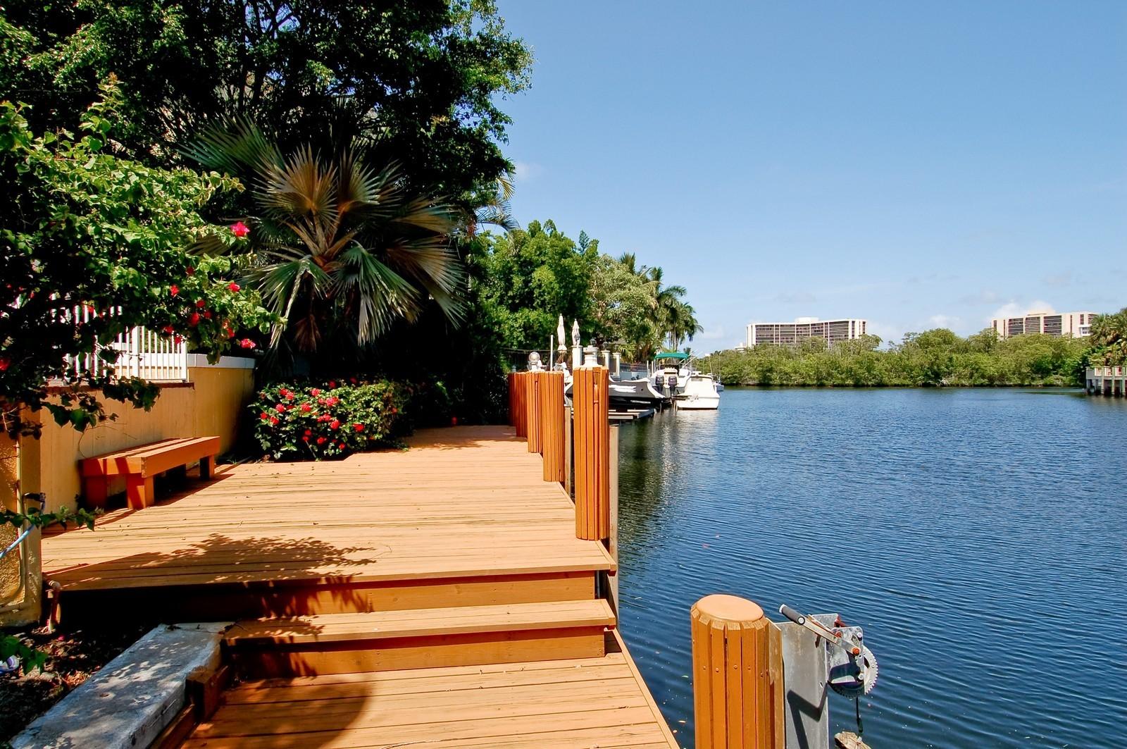 Real Estate Photography - 4798 Sanctuary Ln, Boca Raton, FL, 33431 - Dock
