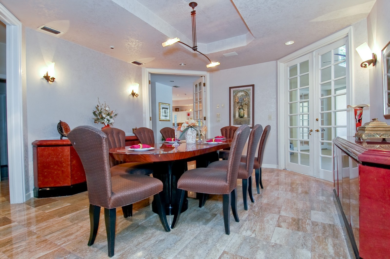 Real Estate Photography - 4798 Sanctuary Ln, Boca Raton, FL, 33431 - Dining Room