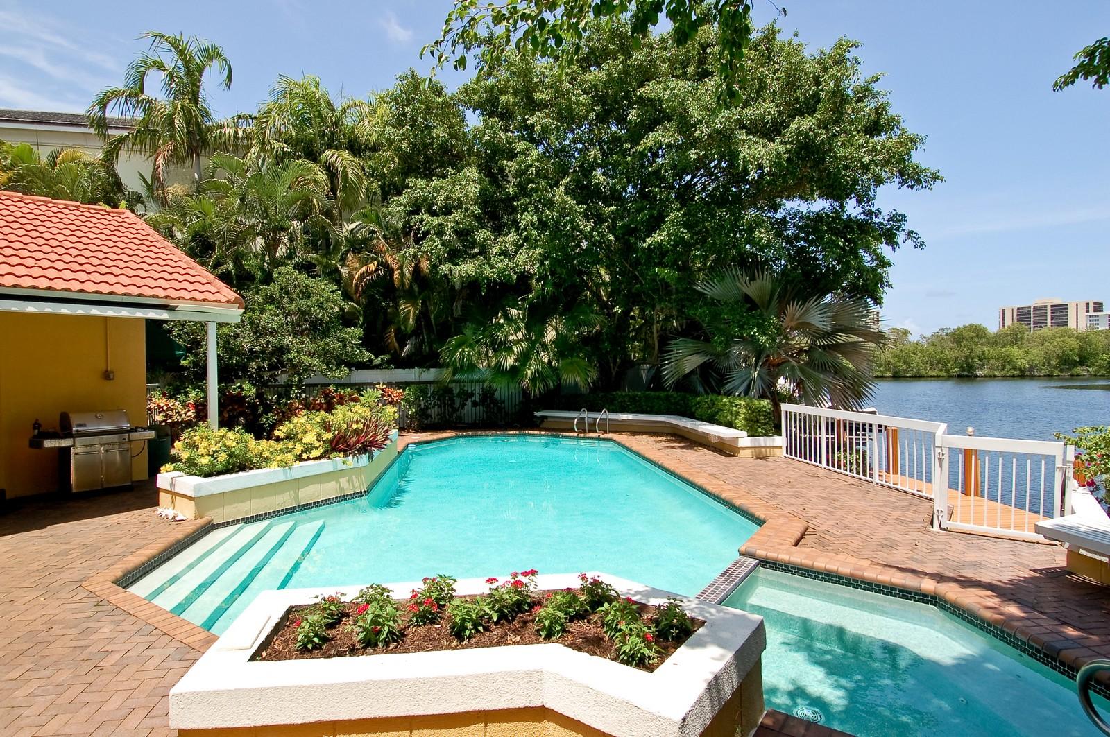 Real Estate Photography - 4798 Sanctuary Ln, Boca Raton, FL, 33431 - Pool