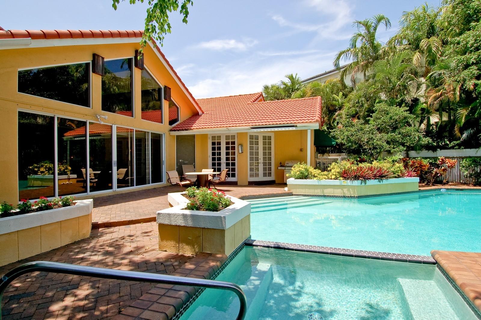 Real Estate Photography - 4798 Sanctuary Ln, Boca Raton, FL, 33431 - Rear View