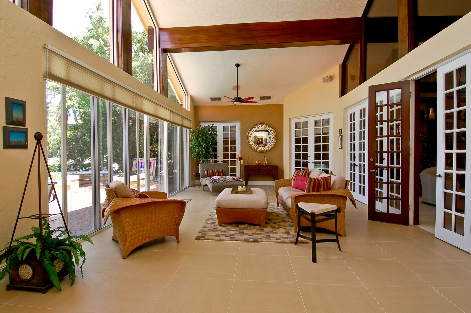 Real Estate Photography - 4798 Sanctuary Ln, Boca Raton, FL, 33431 - Sun Room