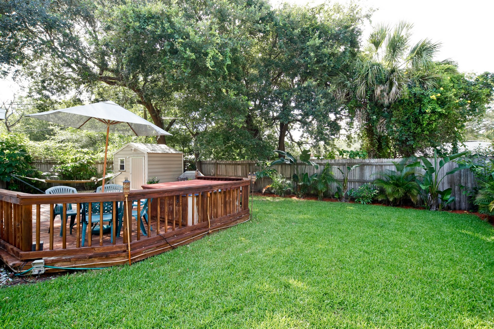 Real Estate Photography - 4603 W Kensington Ave, Tampa, FL, 33629 - Back Yard