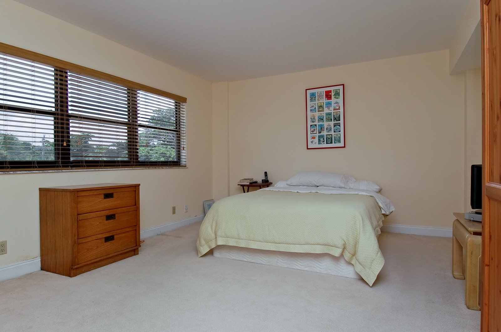 Real Estate Photography - 4605 S Ocean Blvd, Unit 3B, Highland Beach, FL, 33487 - Master Bedroom
