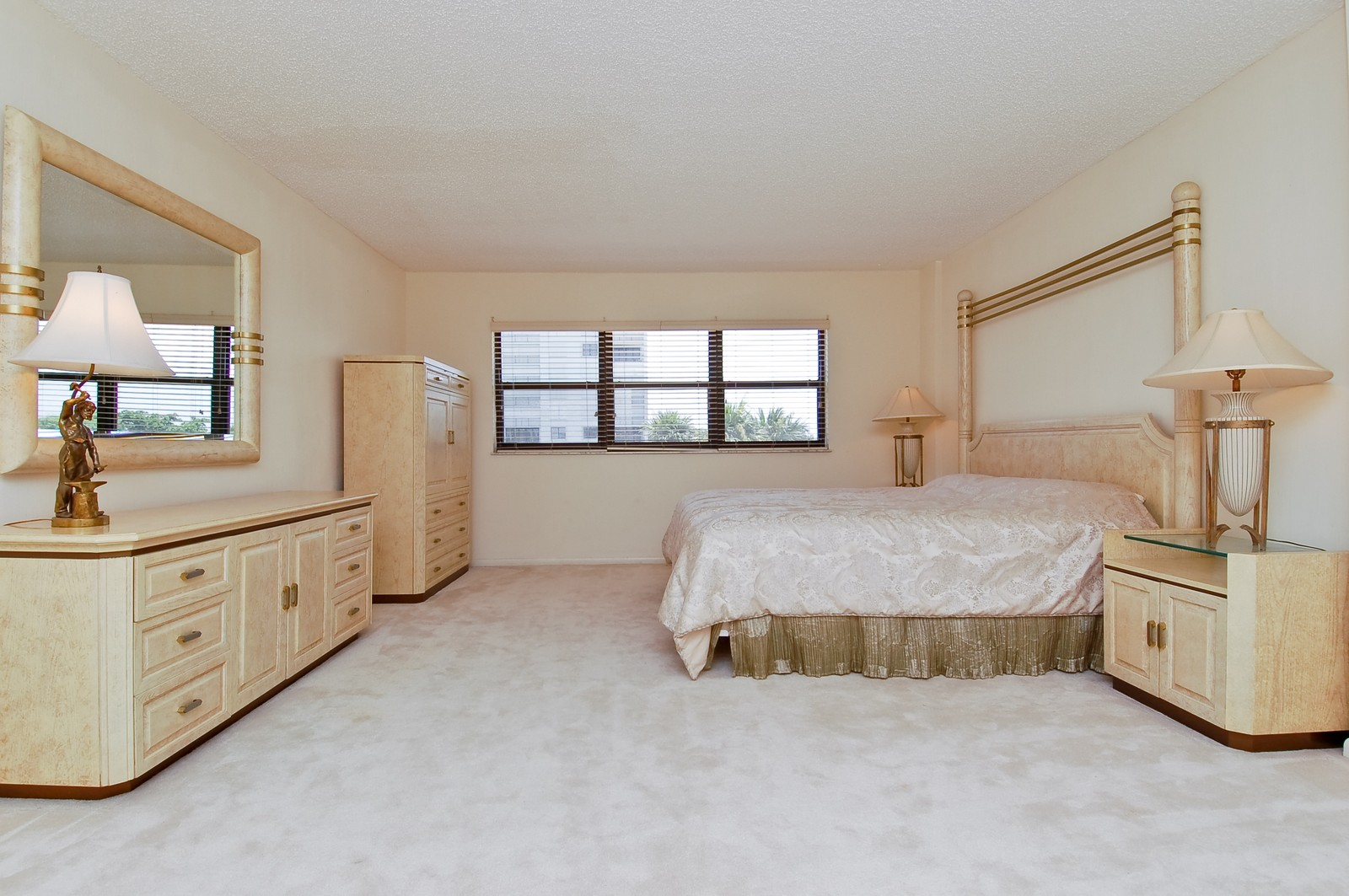 Real Estate Photography - 4605 S Ocean Blvd, Unit 3B, Highland Beach, FL, 33487 - 2nd Bedroom