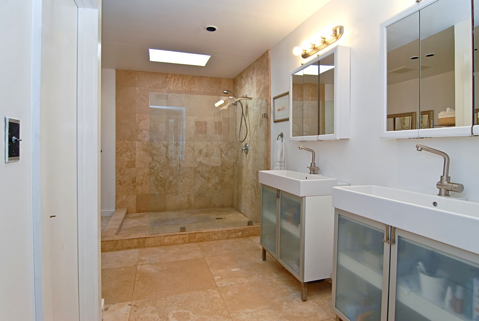 Real Estate Photography - 1320 Still Water Dr, Miami, FL, 33141 - Master Bathroom