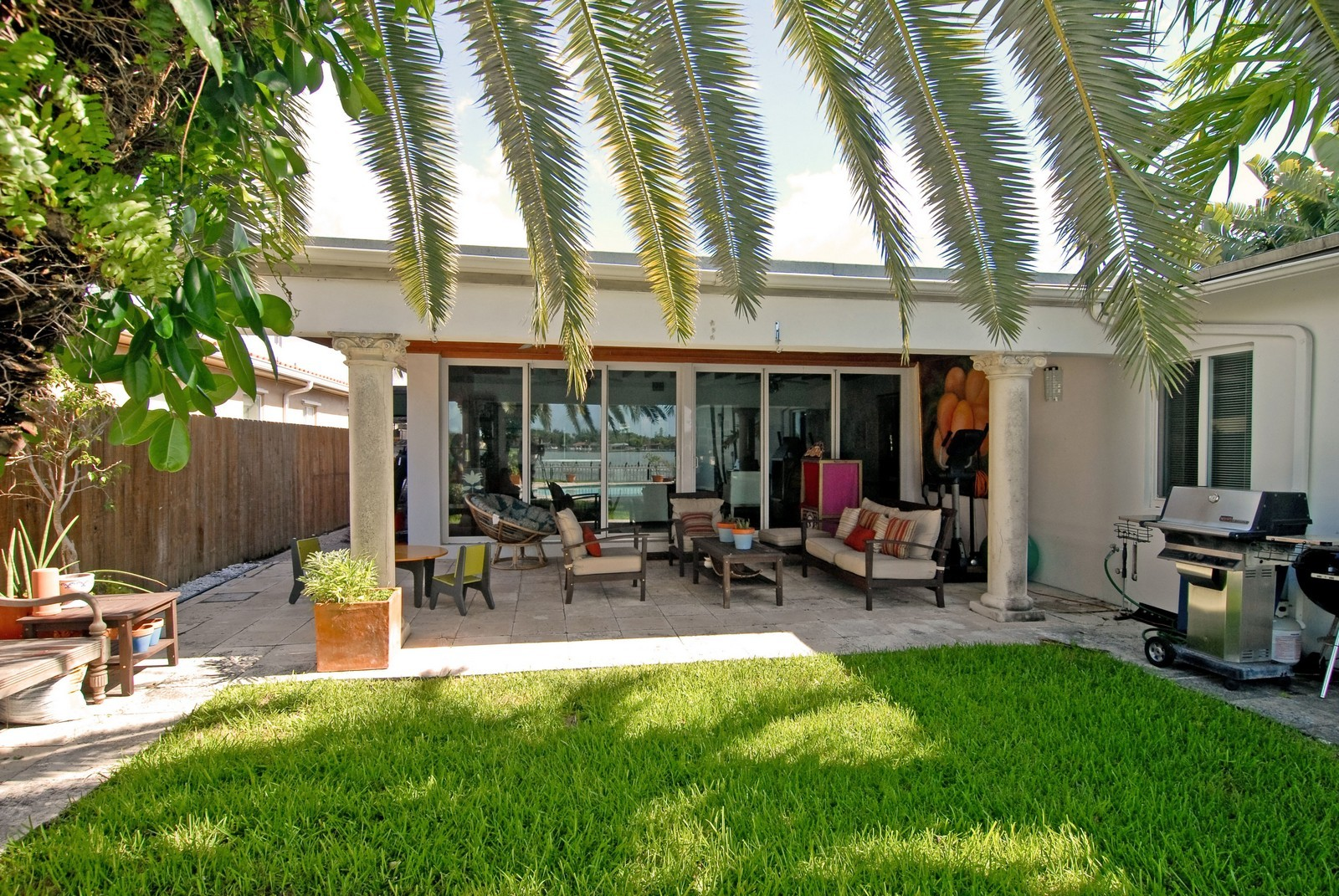 Real Estate Photography - 1320 Still Water Dr, Miami, FL, 33141 - Back Yard