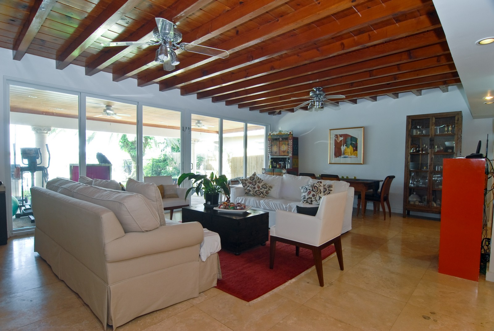 Real Estate Photography - 1320 Still Water Dr, Miami, FL, 33141 - Family Room / Dining Room