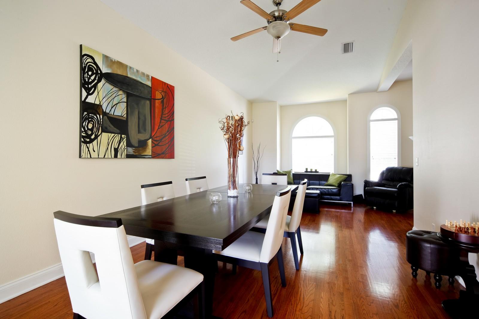 Real Estate Photography - 3812 El Prado Blvd, Tampa, FL, 33629 - Living Room / Dining Room