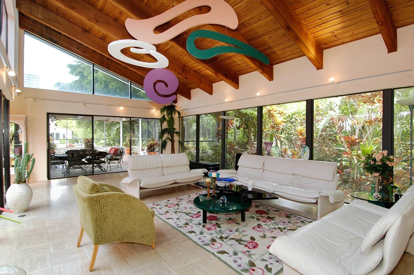 Real Estate Photography - 622 Golden Beach Dr, Golden Beach, FL, 33160 - Living Room