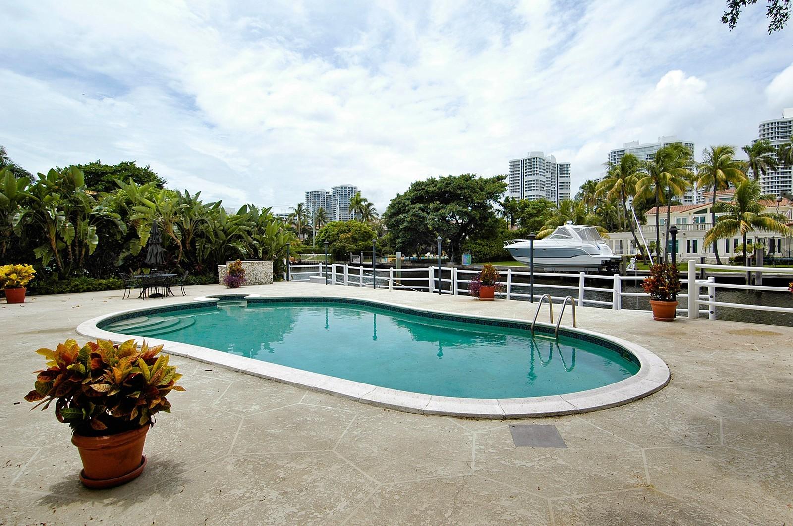 Real Estate Photography - 622 Golden Beach Dr, Golden Beach, FL, 33160 - Pool