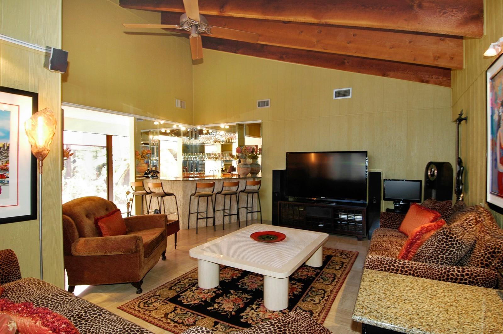 Real Estate Photography - 622 Golden Beach Dr, Golden Beach, FL, 33160 - Family Room