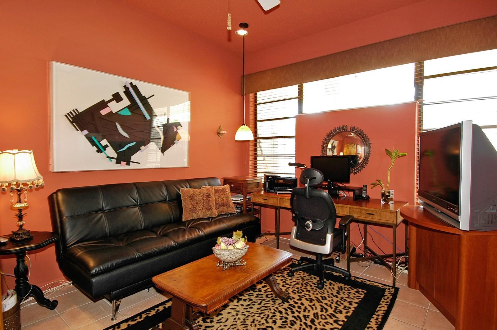 Real Estate Photography - 622 Golden Beach Dr, Golden Beach, FL, 33160 - Den