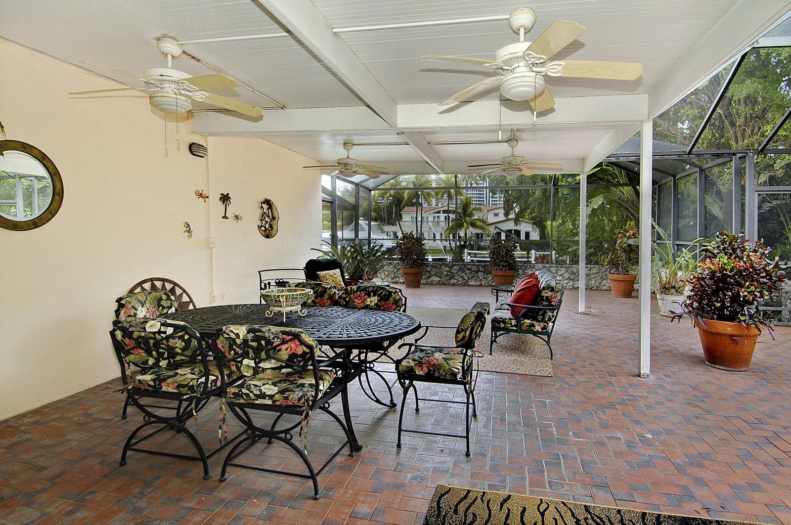 Real Estate Photography - 622 Golden Beach Dr, Golden Beach, FL, 33160 - Patio