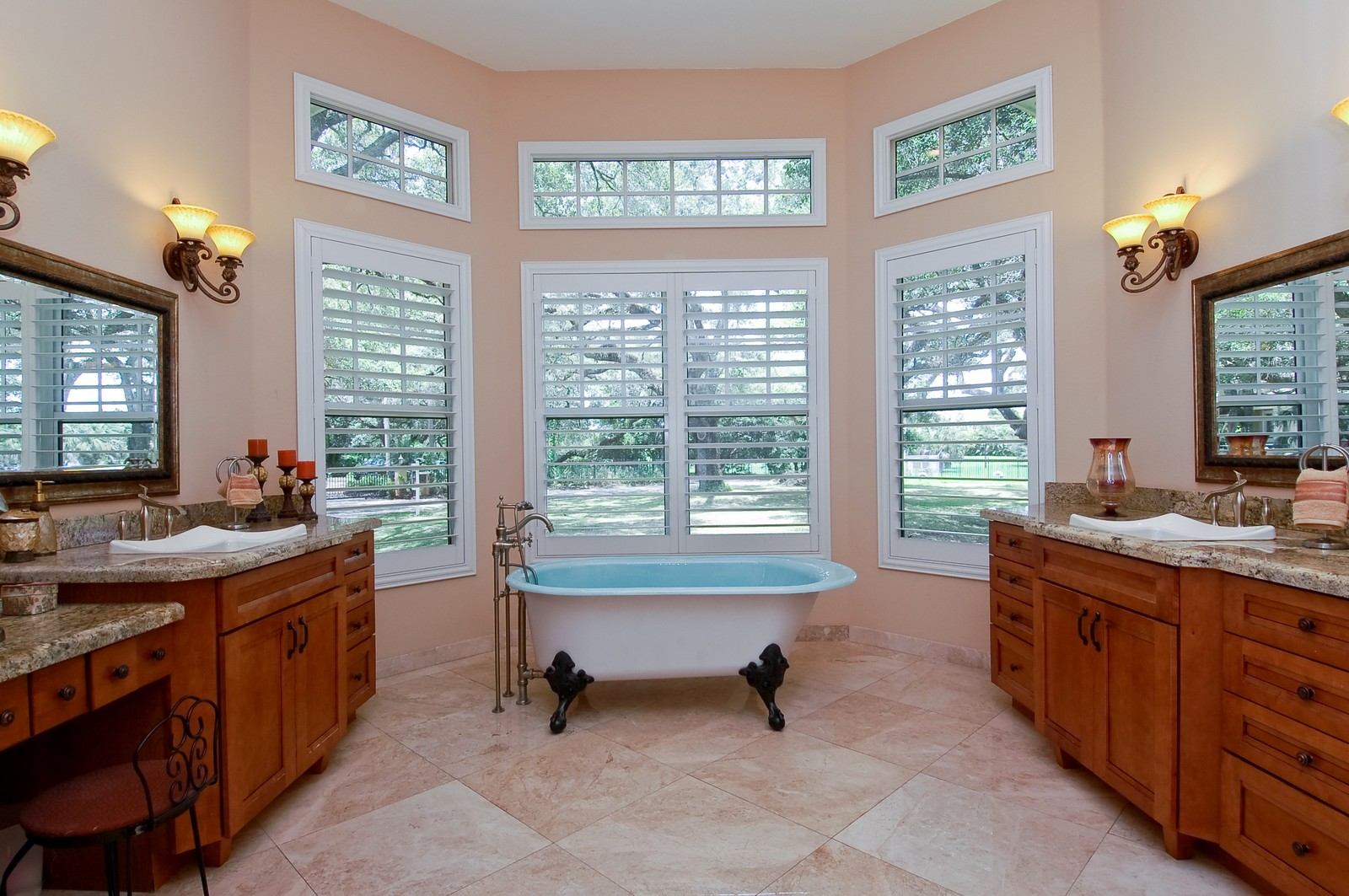 Real Estate Photography - 5400 Woodlanden Ln, Ft Lauderdale, FL, 33021 - Master Bathroom