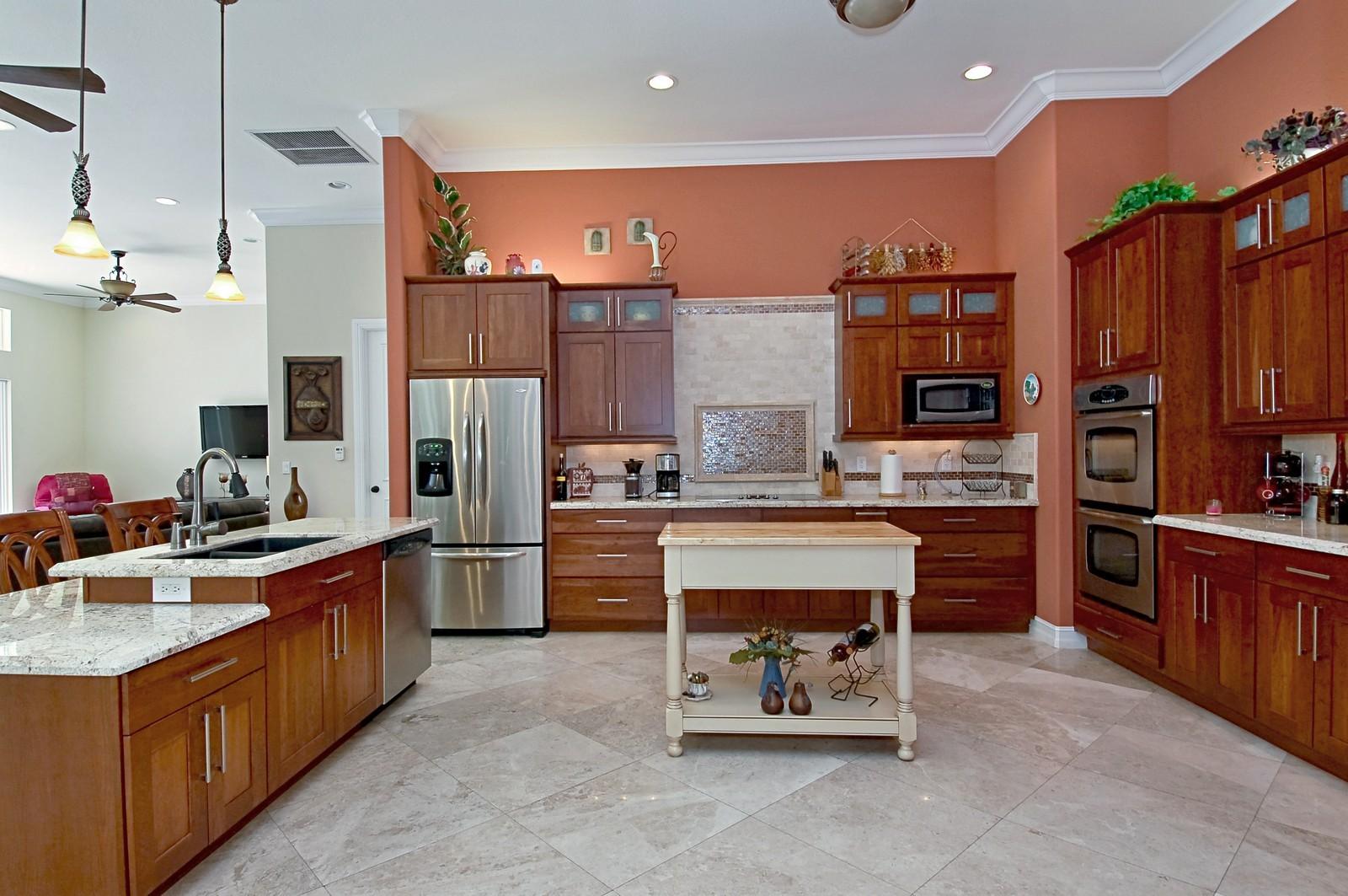 Real Estate Photography - 5400 Woodlanden Ln, Ft Lauderdale, FL, 33021 - Kitchen