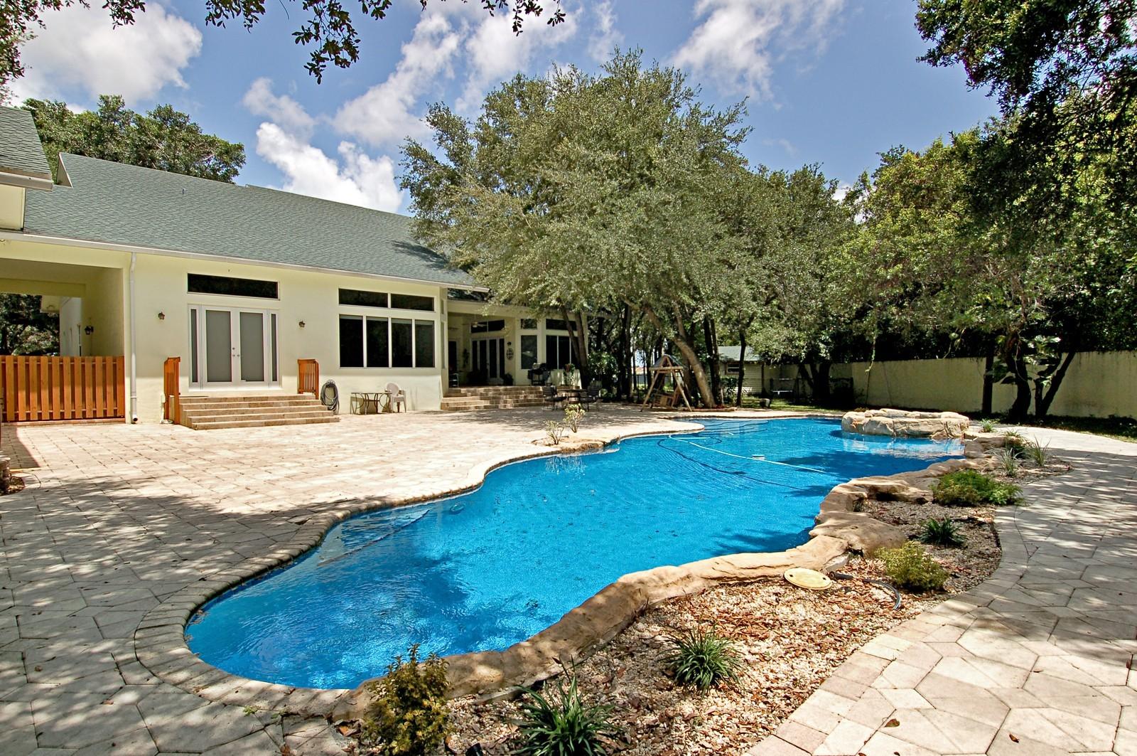 Real Estate Photography - 5400 Woodlanden Ln, Ft Lauderdale, FL, 33021 - Pool