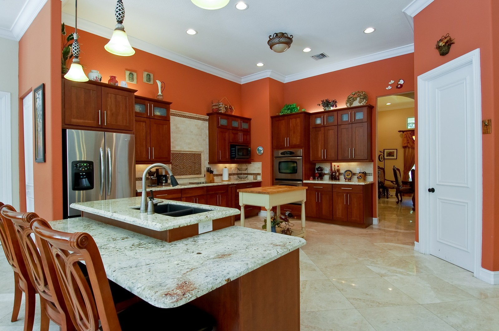 Real Estate Photography - 5400 Woodlanden Ln, Ft Lauderdale, FL, 33021 - Kitchen