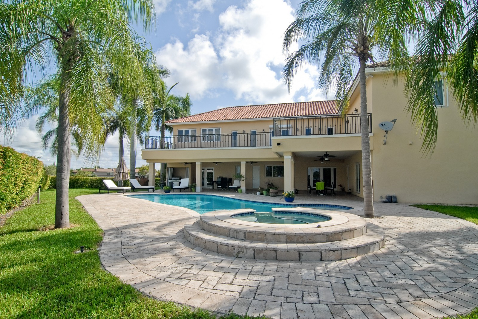 Real Estate Photography - 9263 SW 136th Ter, Miami, FL, 33176 - Pool