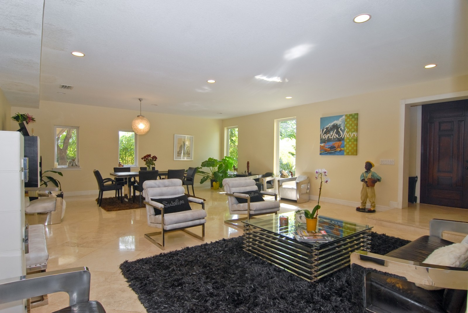 Real Estate Photography - 9263 SW 136th Ter, Miami, FL, 33176 - Living Room / Dining Room