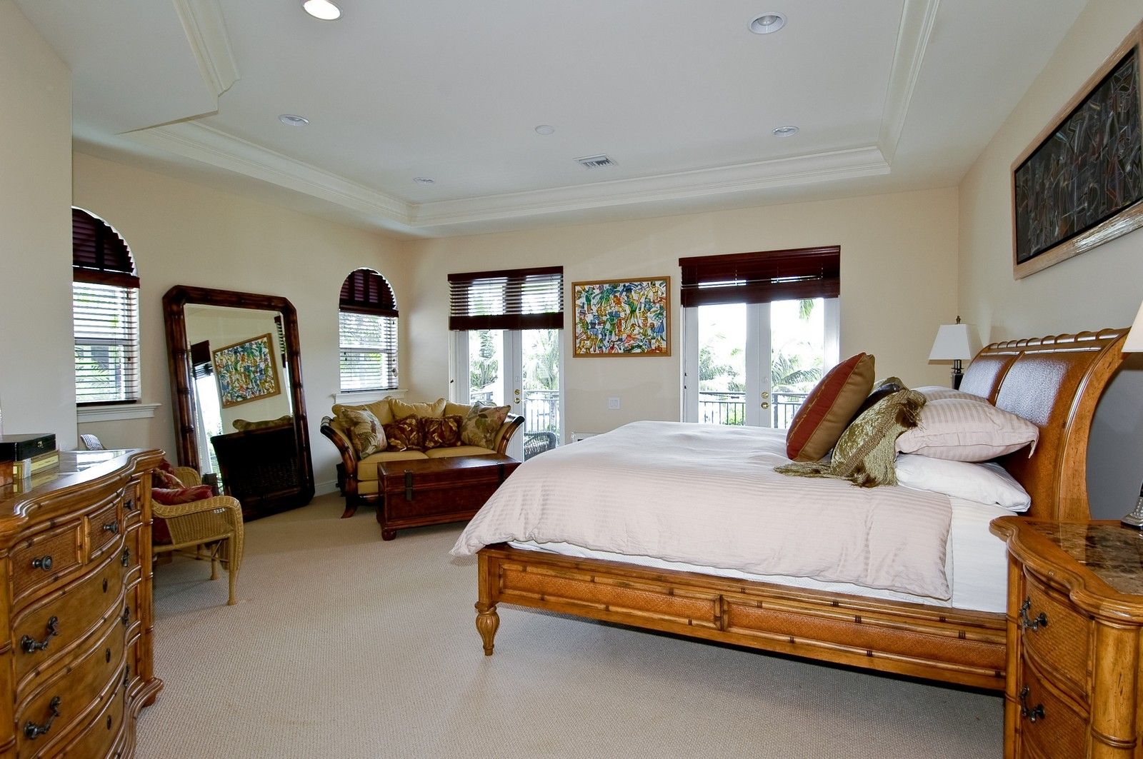 Real Estate Photography - 1260 Hatteras Ln, Hollywood, FL, 33019 - Master Bedroom