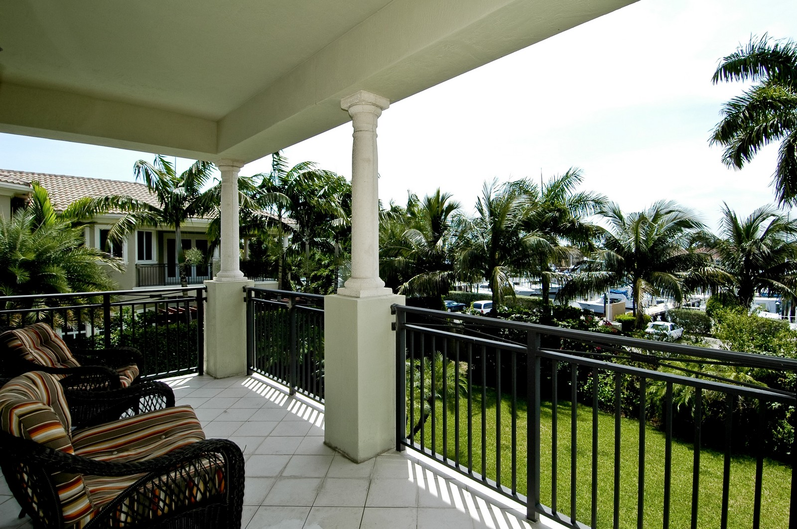 Real Estate Photography - 1260 Hatteras Ln, Hollywood, FL, 33019 - Balcony