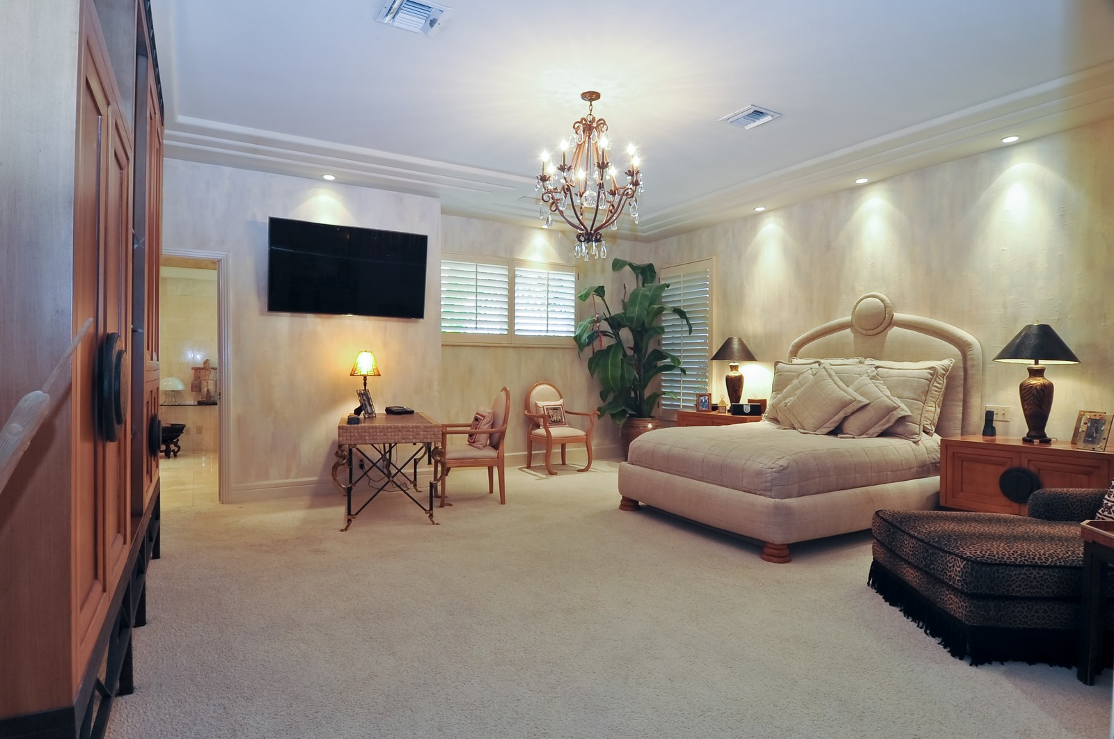 Real Estate Photography - 1510 W 23rd St, Miami Beach, FL, 33140 - Master Bedroom