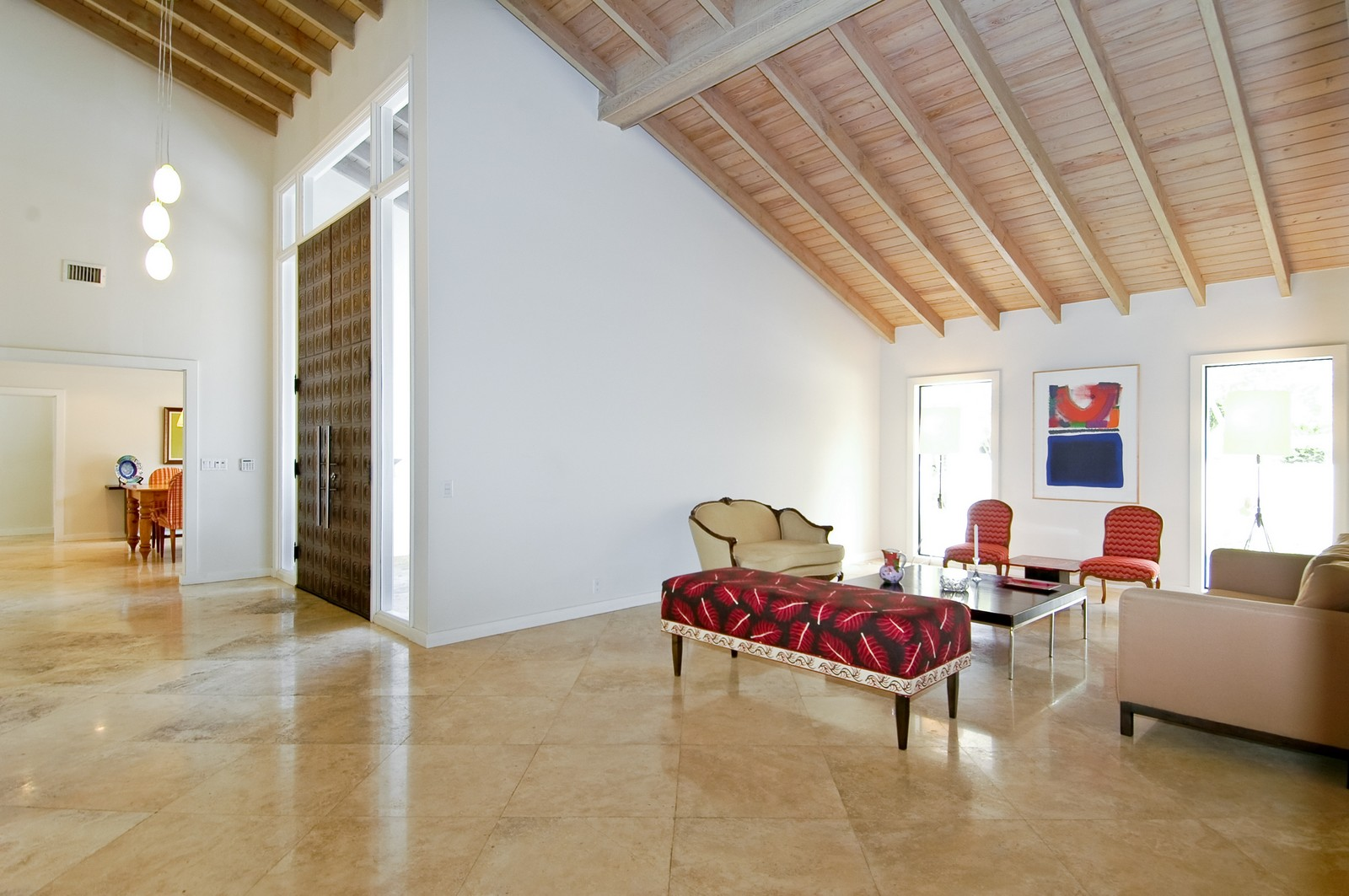 Real Estate Photography - 5900 SW 116th St, Coral Gables, FL, 33156 - Living Room