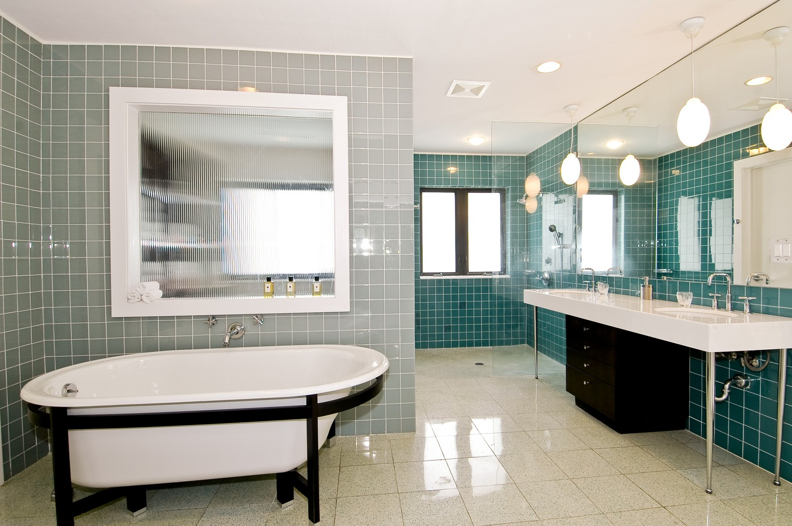 Real Estate Photography - 5900 SW 116th St, Coral Gables, FL, 33156 - Master Bathroom