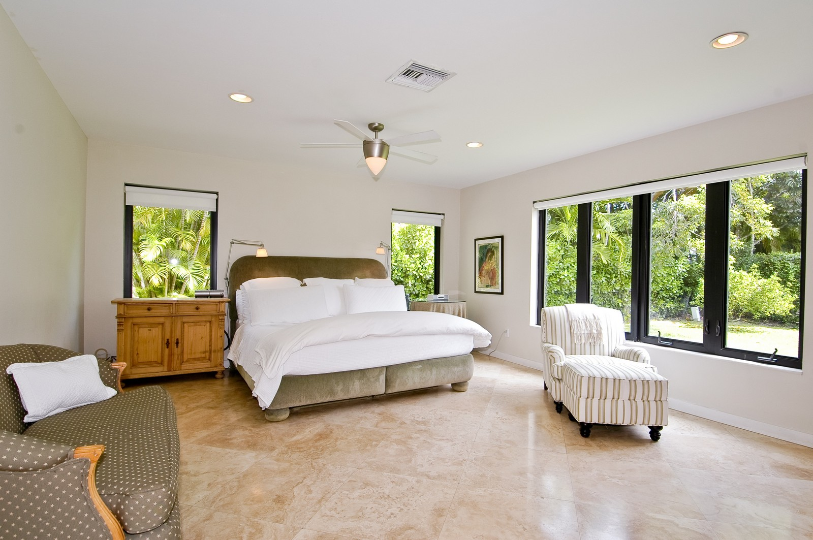 Real Estate Photography - 5900 SW 116th St, Coral Gables, FL, 33156 - Master Bedroom