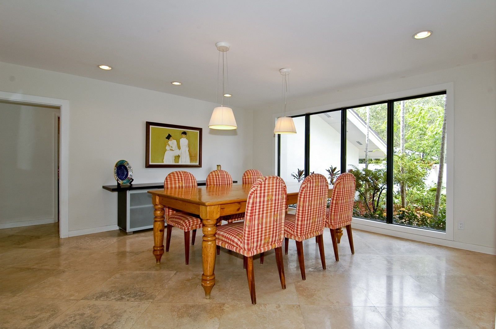 Real Estate Photography - 5900 SW 116th St, Coral Gables, FL, 33156 - Dining Room