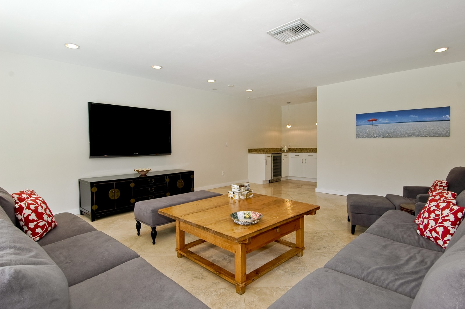 Real Estate Photography - 5900 SW 116th St, Coral Gables, FL, 33156 - Family Room