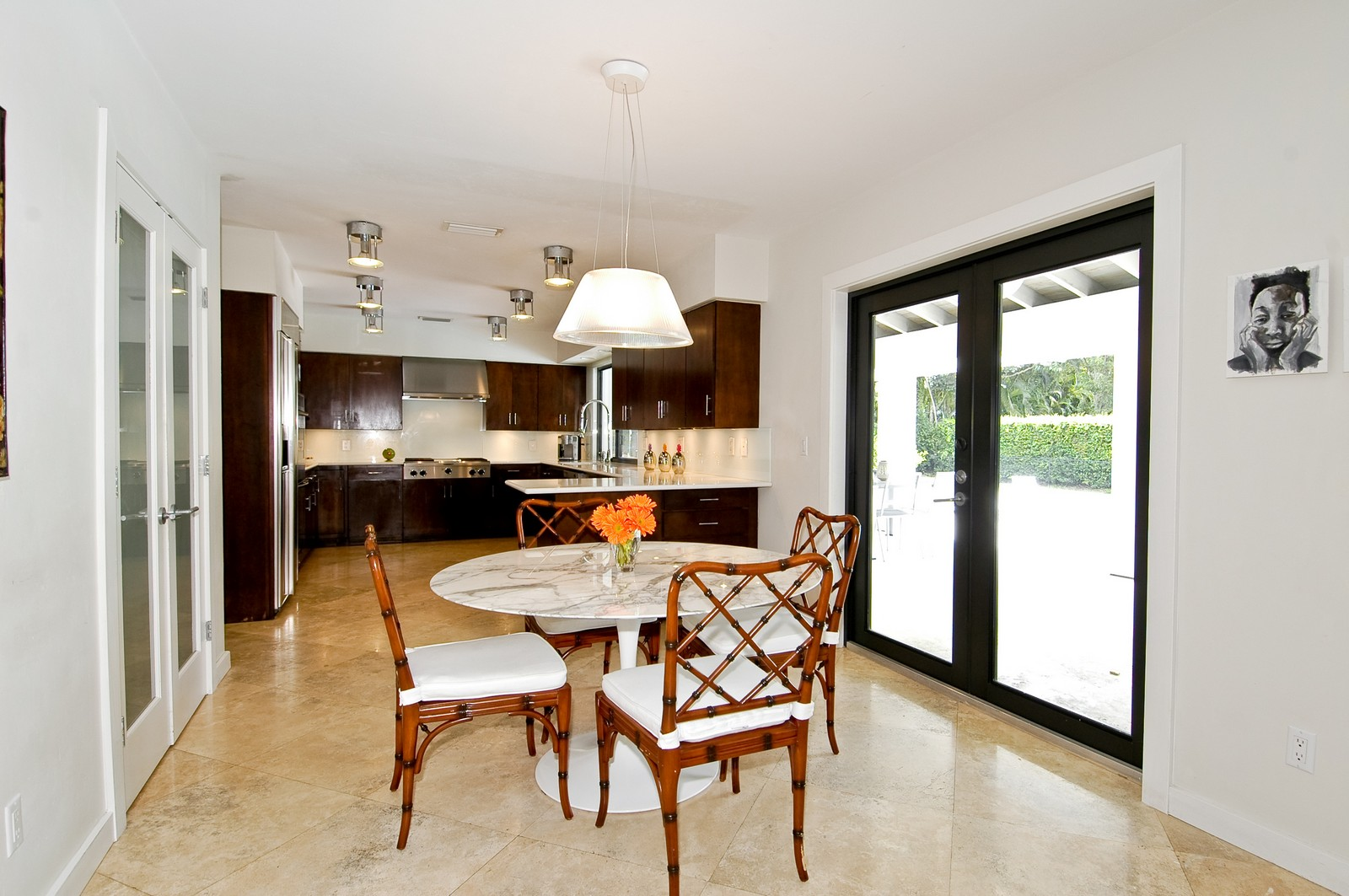 Real Estate Photography - 5900 SW 116th St, Coral Gables, FL, 33156 - Breakfast Room