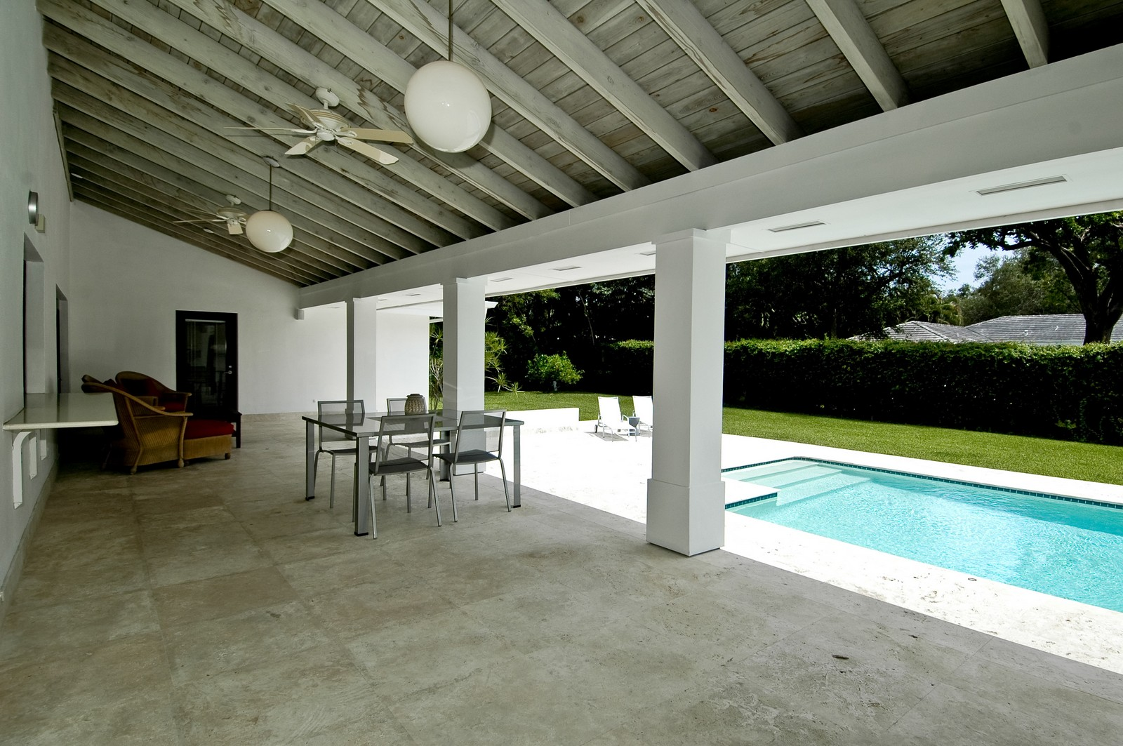 Real Estate Photography - 5900 SW 116th St, Coral Gables, FL, 33156 - Patio