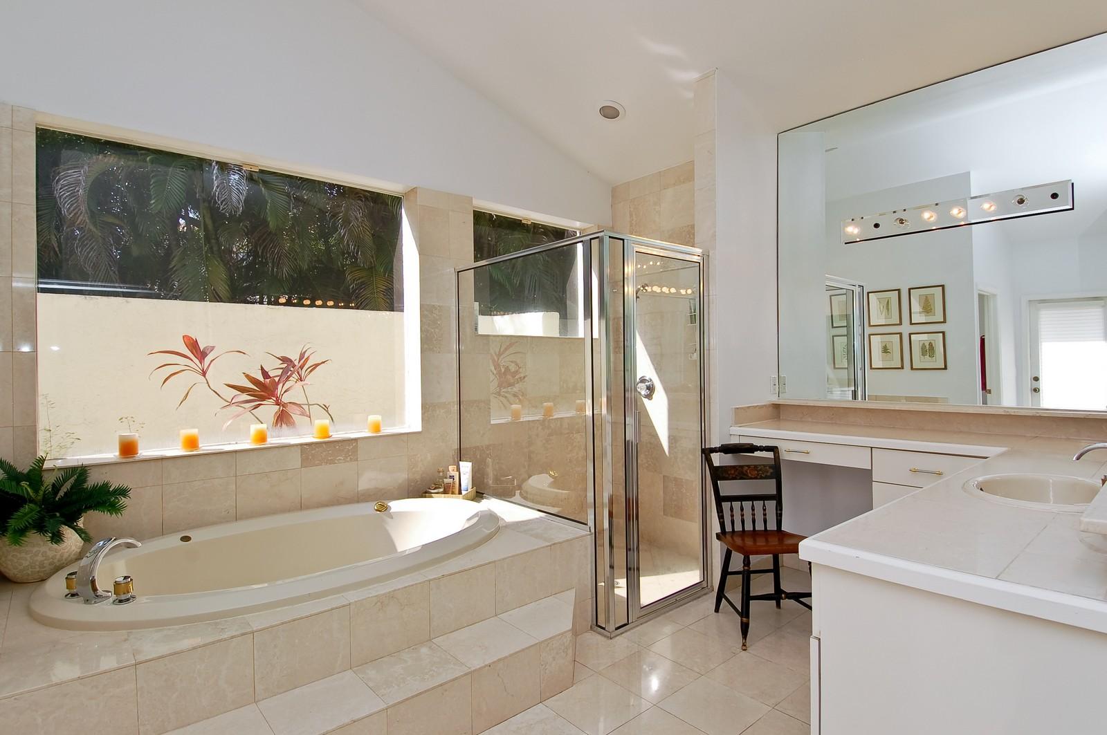 Real Estate Photography - 6329 NW 23rd Way, Boca Raton, FL, 33496 - Master Bathroom