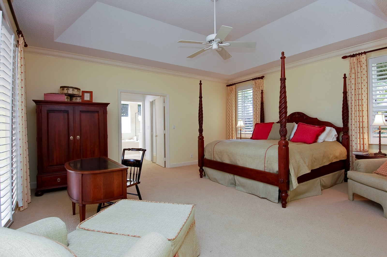 Real Estate Photography - 6329 NW 23rd Way, Boca Raton, FL, 33496 - Master Bedroom