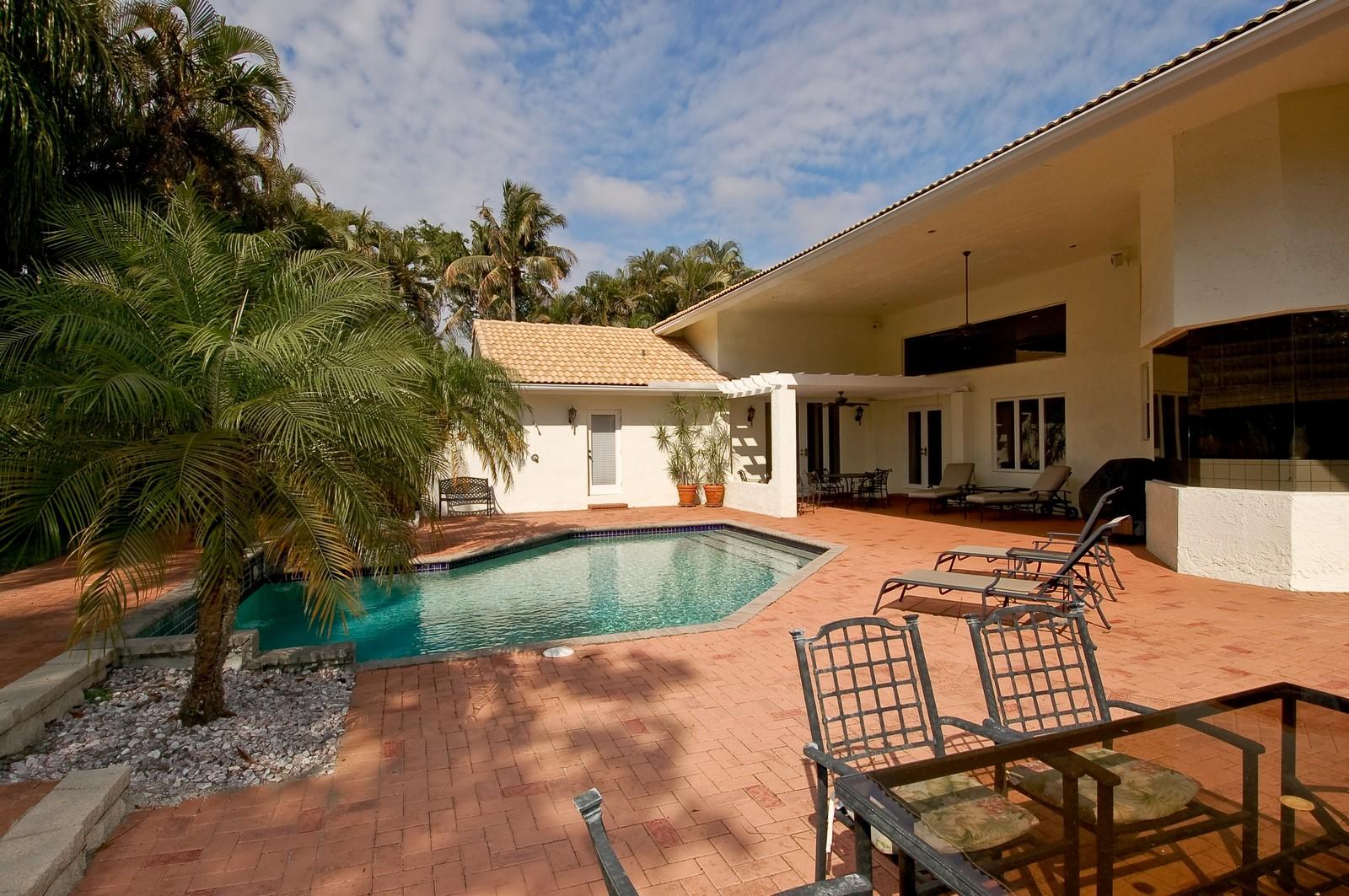 Real Estate Photography - 6329 NW 23rd Way, Boca Raton, FL, 33496 - Pool