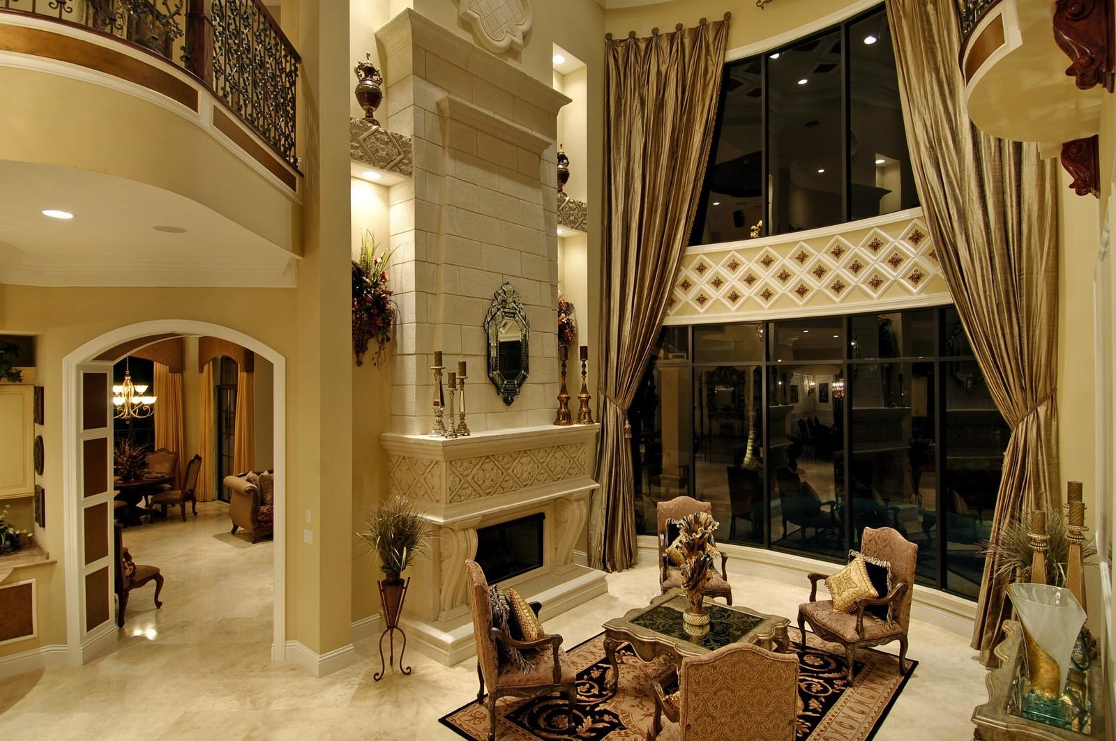 Real Estate Photography - 9391 Bridgebrook Drive, Boca Raton, FL, 33496 - Living Room