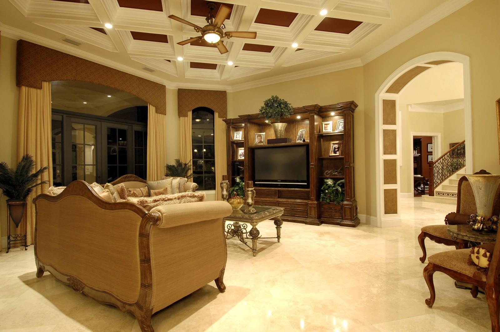 Real Estate Photography - 9391 Bridgebrook Drive, Boca Raton, FL, 33496 - Family Room
