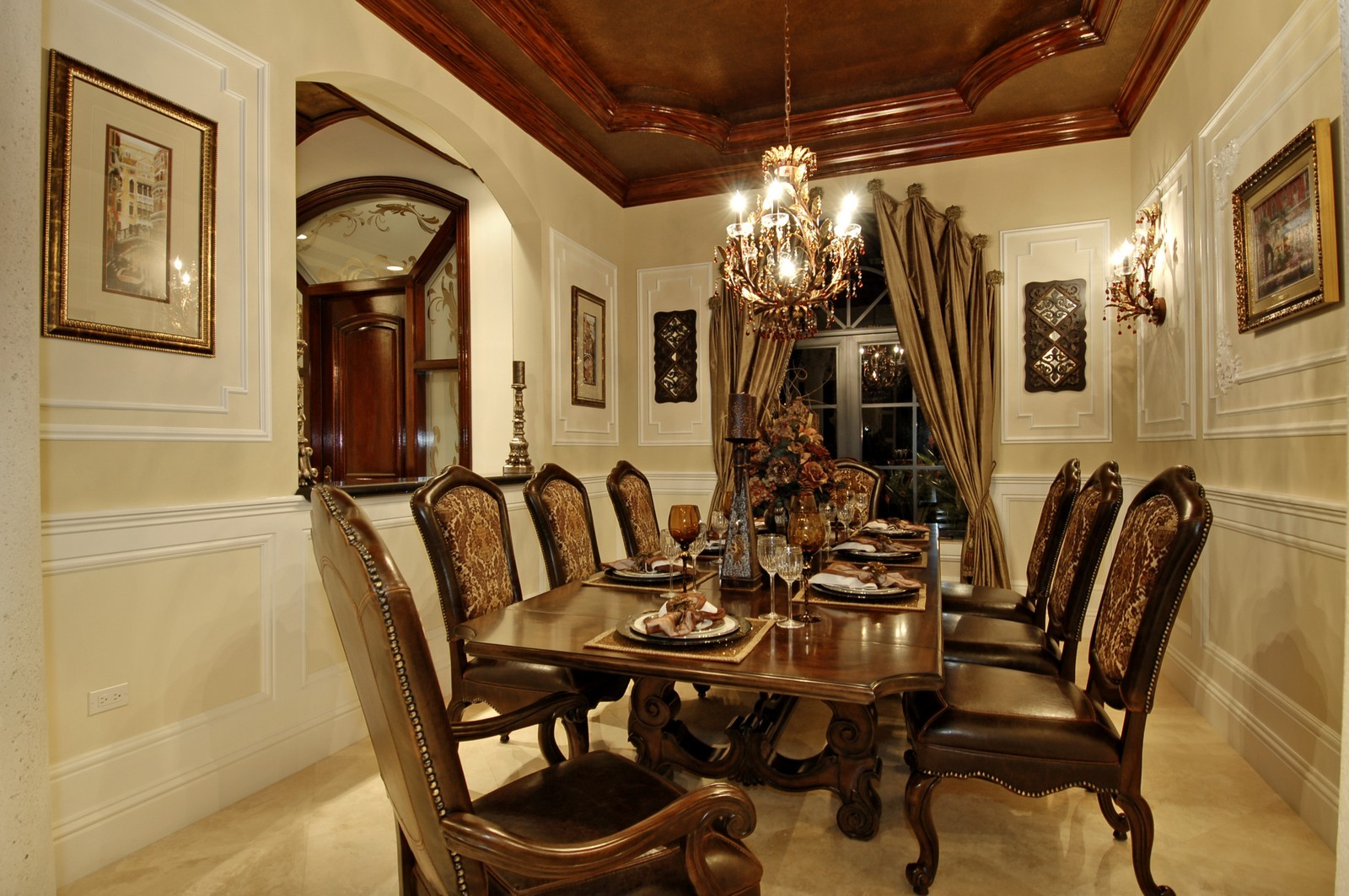 Real Estate Photography - 9391 Bridgebrook Drive, Boca Raton, FL, 33496 - Dining Room