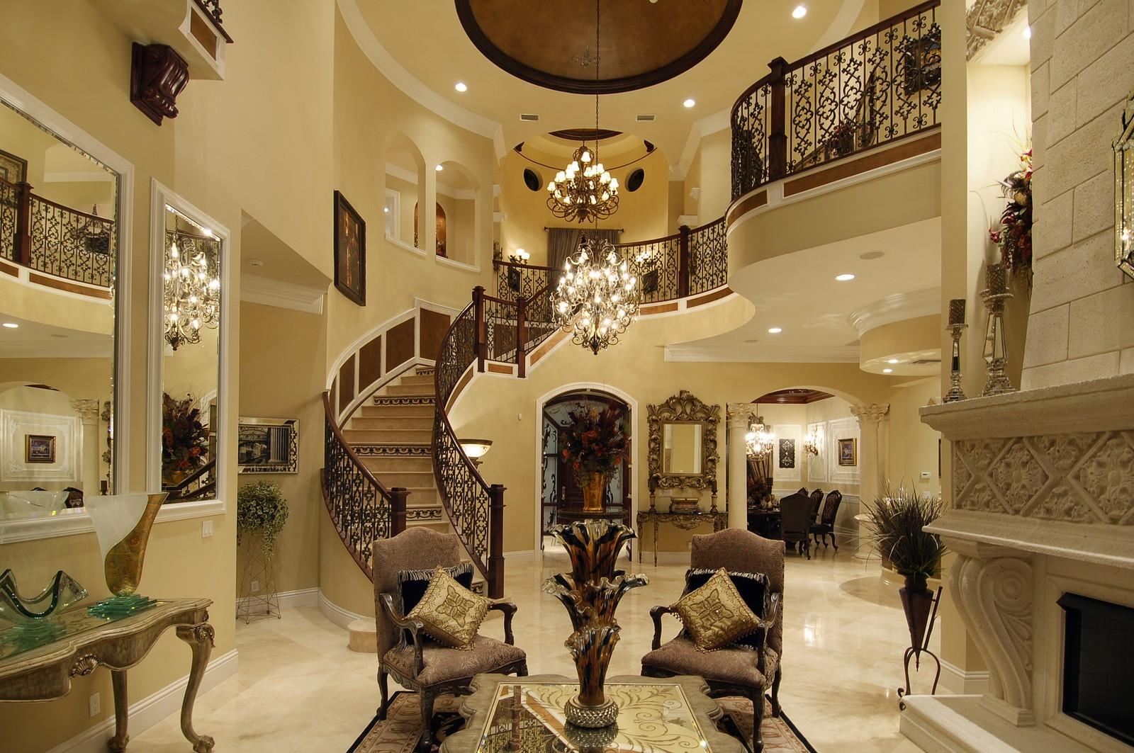 Real Estate Photography - 9391 Bridgebrook Drive, Boca Raton, FL, 33496 - Foyer/Living Room