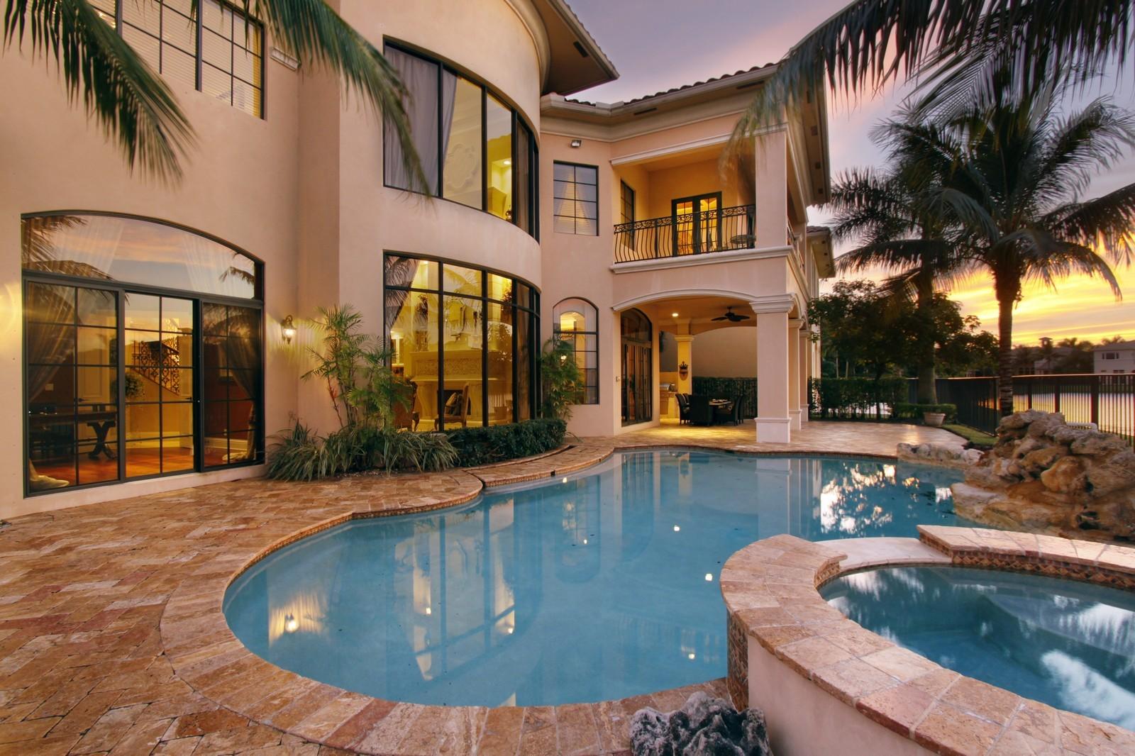 Real Estate Photography - 9391 Bridgebrook Drive, Boca Raton, FL, 33496 - Pool