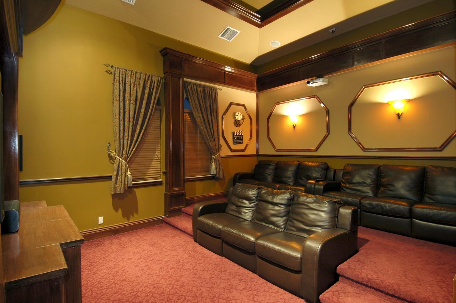 Real Estate Photography - 9391 Bridgebrook Drive, Boca Raton, FL, 33496 - Theater