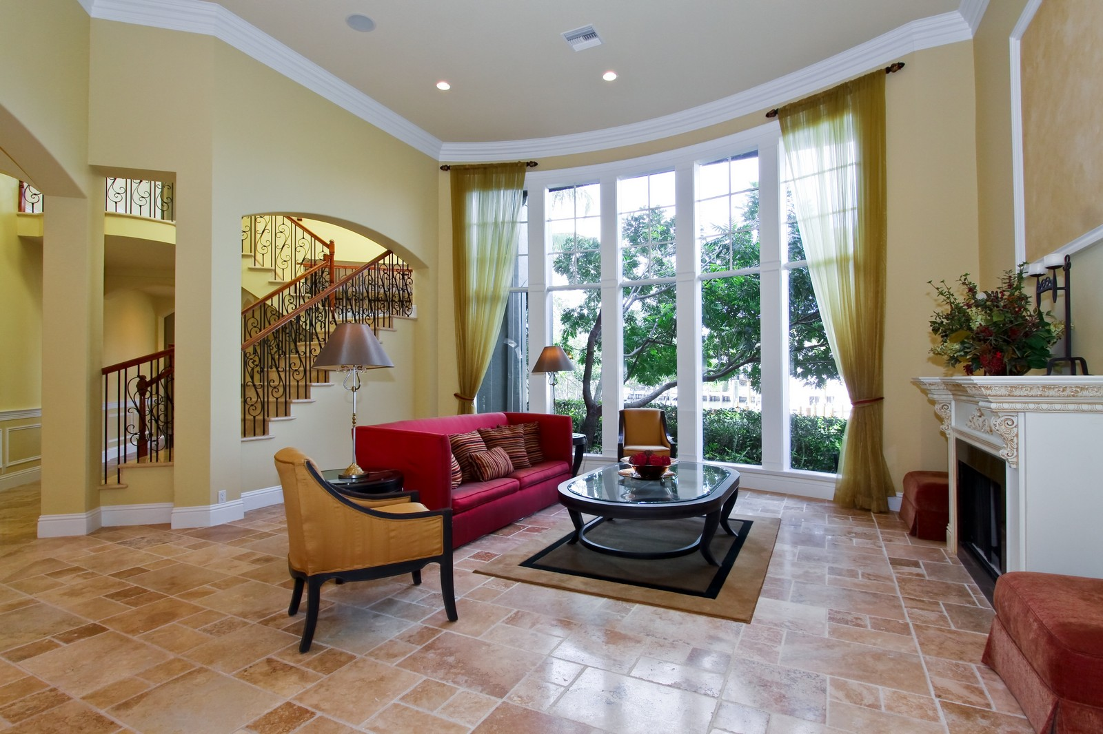Real Estate Photography - 809 Harbour Isles Court, North Palm Beach, FL, 33410 - Living Room