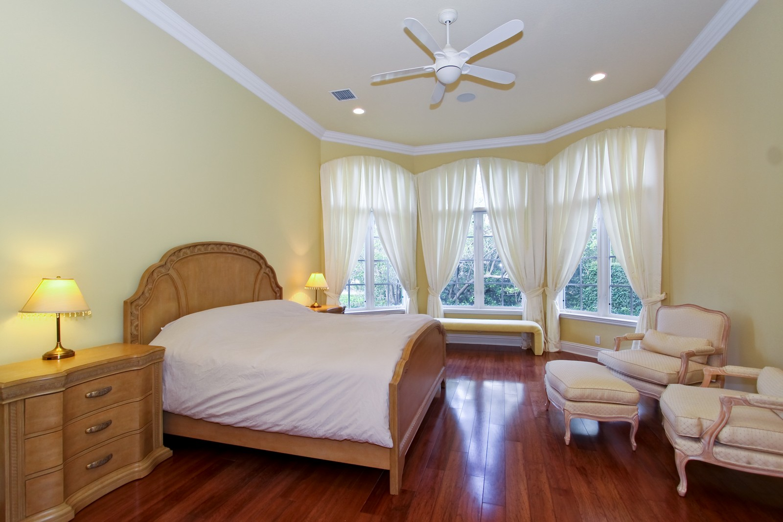 Real Estate Photography - 809 Harbour Isles Court, North Palm Beach, FL, 33410 - Master Bedroom